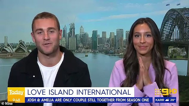 Love Island Australia Stars Josh Moss And Amelia Plummer