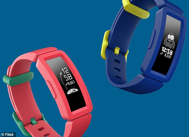 The Fitbit Ace 2 (pictured) is currently stocked in Target for $129 with blue and pink bands, and is the second generation version of the Fitbit Ace