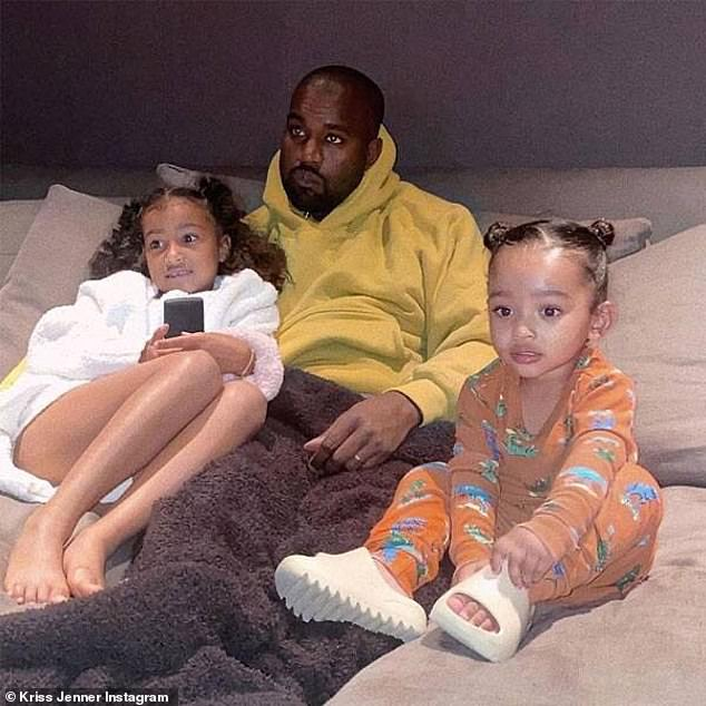 Sequester: Kim and Kanye reportedly have different approaches on keeping busy while in home quarantine, although he does help take the workload off of her with some alone time