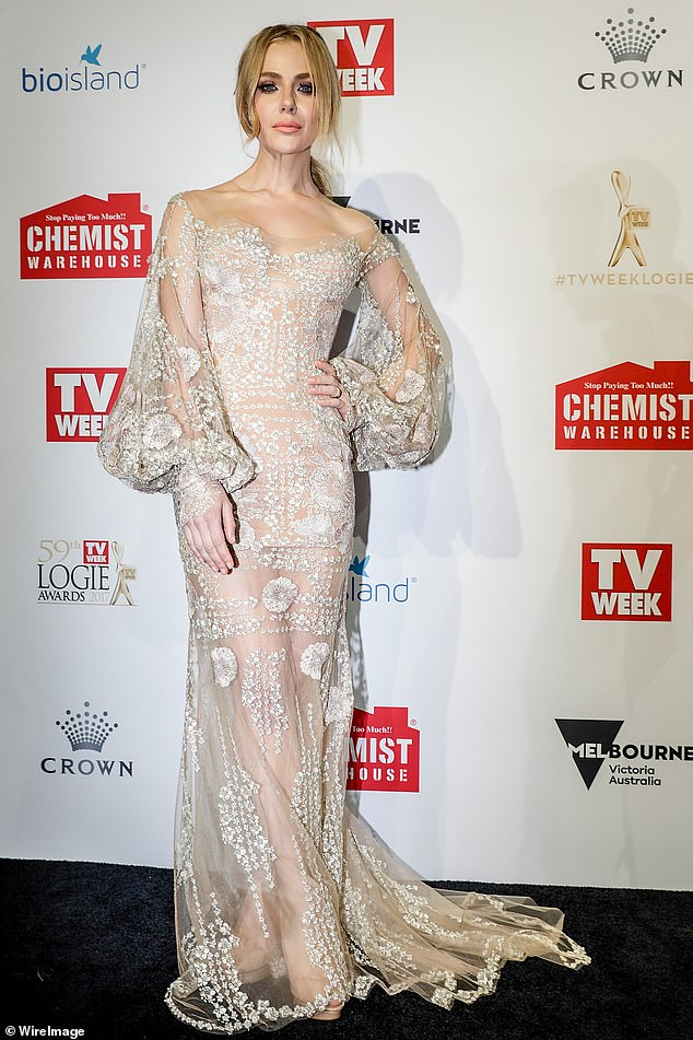 Farewell: Original actor Jessica Marais (pictured) stepped down for 'personal reasons' in February and was replaced by Georgina as Rachel Rafter