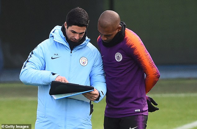 The players have often sought Arteta on the field or in the office to improve their own games.
