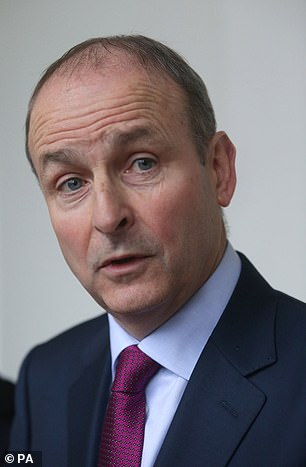 Fianna Fail's leader Micheal Martin (pictured) is now set to become Ireland's next premier