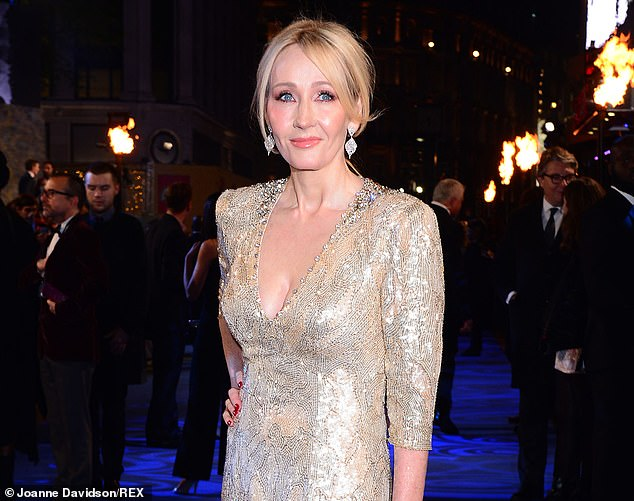 The Harry Potter author, 54, has endured a storm of protest since expressing 'deep concerns' about transgender activism in an essay last week in which she also described being a victim of domestic violence and sexual assault