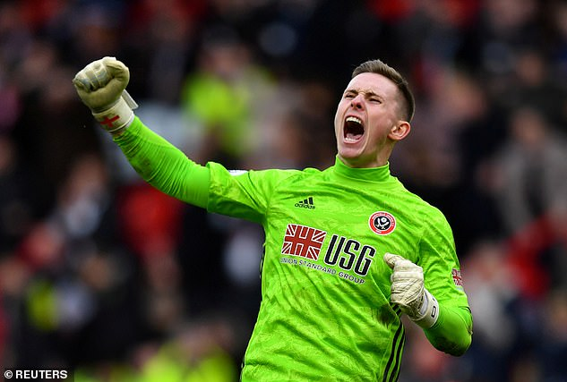 Dean Henderson is to remain with Sheffield United for the rest of this season