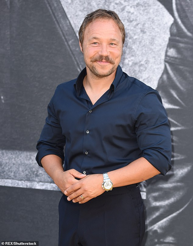 Star: Stephen Graham, who hails from Kirkby, urged Jodie to keep her accent. Pictured in 2018