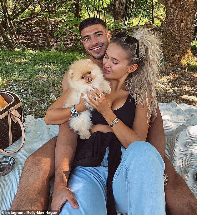 Loss: Molly-Mae has been silent on social media since the ordeal with her puppy, Mr. Chai, after her death just six days after she and her boyfriend Tommy Fury adopted him from Russia