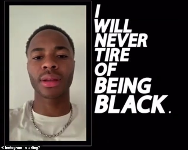 In a powerful video on Instagram, Sterling and his colleagues are demanding that changes be made