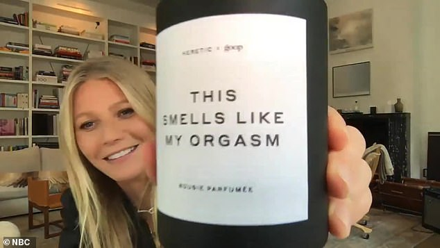 The following: The new candle called This Smells Like My Orgasm follows the Goop candle previously presented, titled This Smells Like My Vagina