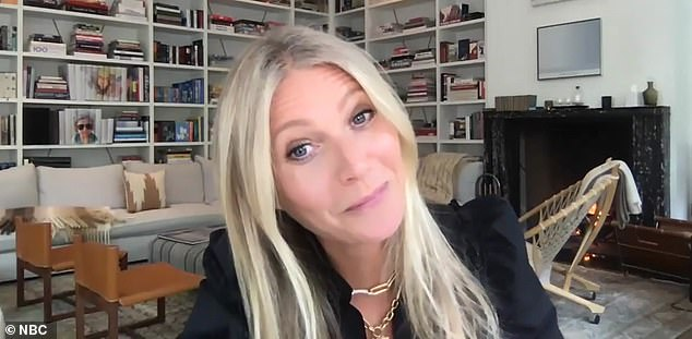Netflix series: Gwyneth was promoting the upcoming second season of The Politician, which opens Friday on Netflix