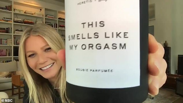 Founder of Goop: Gwyneth smiled waving the 10.5 oz candle sold for $ 75 on the Goop website