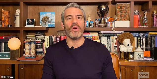 Host: Andy Cohen organized the remote broadcast due to the coronavirus pandemic