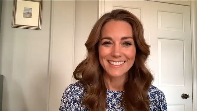 Tomorrow, the Duchess of Cambridge will lead an online assembly for students from the United Kingdom. The pre-recorded message was filmed at the royal home of Anmer Hall in Norfolk in the photo