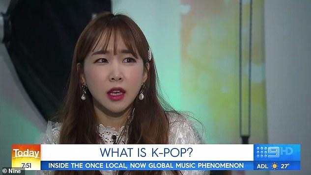 `` J'ai dû sacrifier beaucoup '': Way, du groupe de filles sud-coréen Crayon Pop, s'est ouvert sur le côté sombre de l'industrie K-pop dans une interview avec l'émission Today en décembre