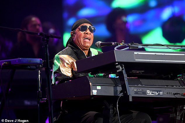 Worries: Meanwhile, in July last year, Stevie revealed that he was due to have a kidney transplant in September and had a living donor lined up