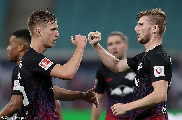 Il lui reste deux matchs avec Leipzig avant de rejoindre Chelsea, sous réserve de son examen médical.