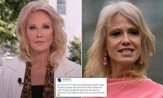 Is That You Kellyanne Conway? Senior Trump Adviser, 53, Looks Like a New Woman During Fox News Interview – as Viewers Question whether she's Had Surgery Done
