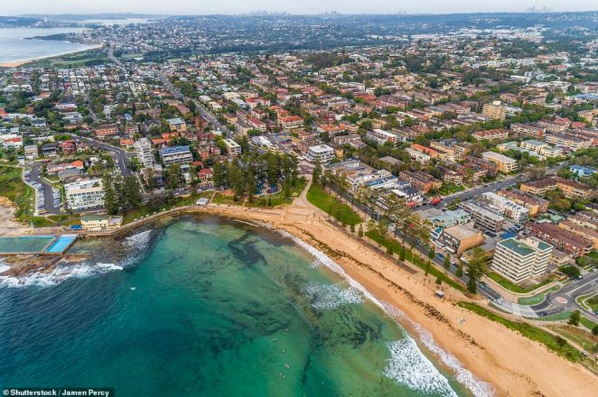 The Northern Beaches (pictured) prove a popular area for homebuyers, but particularly Dee Why due to its affordability