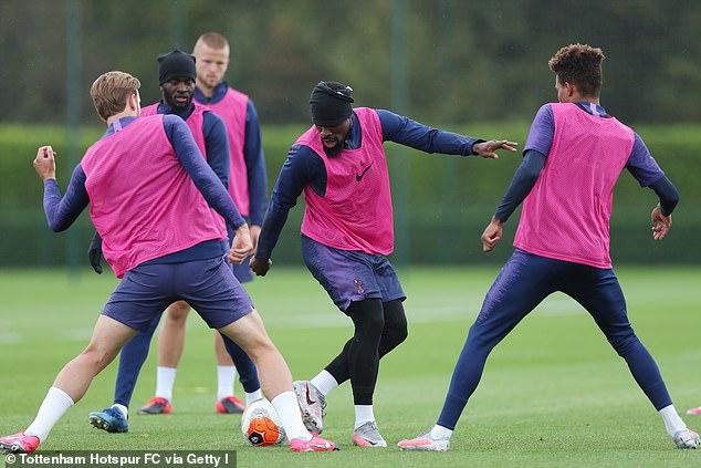 Serge Aurier, l'arrière droit de Tottenham, sera considéré comme une zone à exploiter vendredi