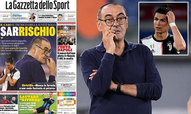 Bongdaso - Bóng đá số - Tin tức - Chỉ trích Ronaldo, ghế của HLV ...