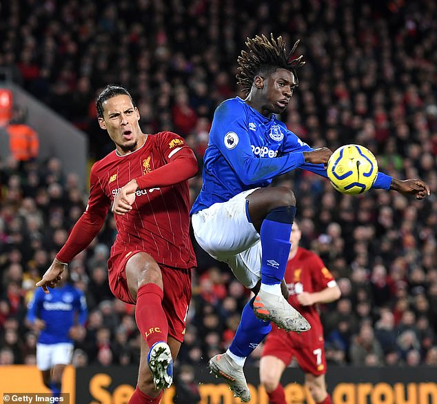 The derby of Merseyside on Sunday will also be presented in the clear and could threaten the record