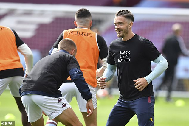 Grealish could not inspire Villa to victory as they took part in the first game since their return