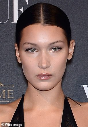 Illusion? 'I'm scared of putting fillers into my lips. I wouldn't want to mess up my face,' Bella (pictured in 2015) said in 2018