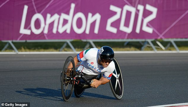 The horrific incident saw Zanardi lose control in a Paralympic race before being hit by a truck