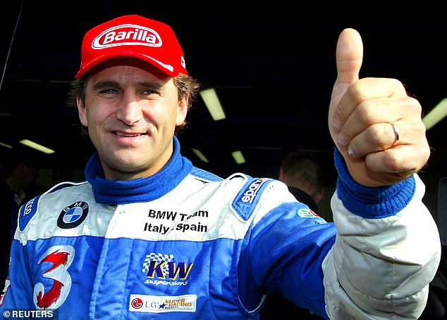 Zanardi was an F1 competitor, before losing both his legs in a German of the IndyCar race in 2001
