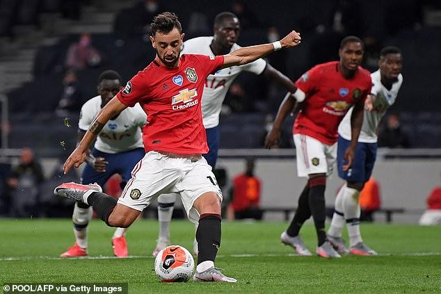 United a sauvé un point contre Tottenham grâce à un penalty de Bruno Fernandes