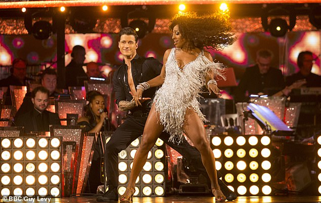 Struggles:Alexandra also opened up about the abuse she received from trolls when she competed on Strictly Come Dancing and injured herself