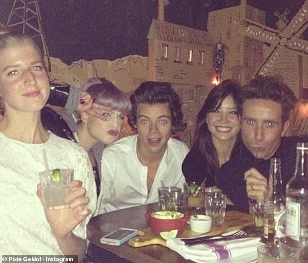 Fleeting romance: Harrry was introduced to Daisy through Nick Grimshaw and Kelly Osbourne