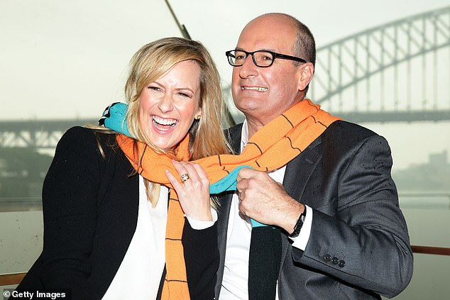Best of mates?Kochie hinted at Melissa's looming departure in a cryptic Instagram post two months ago - on the same day it was speculated that her contract with Seven was under review