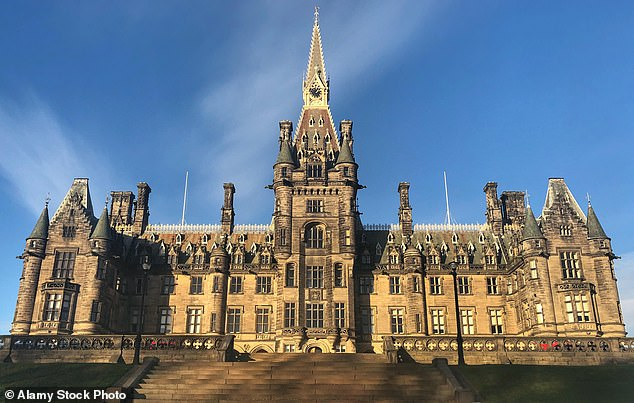 Tony Blair's former school of Fettes College in Edinburgh, pictured above, said it would use the moment as 'a catalyst for real change, and we are working with staff to produce an action plan'