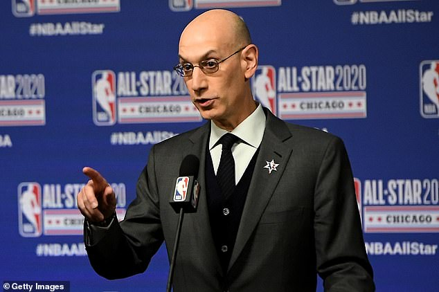 NBA commissioner Adam Silver acknowledged the recent spike of Covid-19 cases in Florida