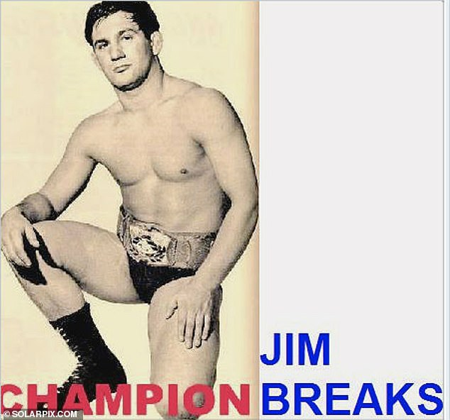 Jim Breaks was a popular figure in British wrestling during the 1960s, 70s and 80s, holding theBritish Lightweight championship over several decades