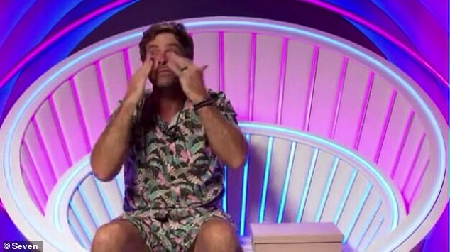 Excruciating: After just two weeks and change inside the Big Brother house, the housemates were left bawling their eyes out upon receiving letters from their family on Monday. Disgusting