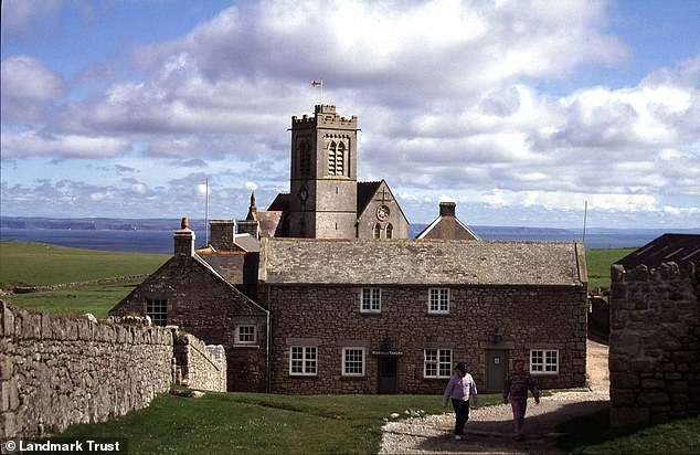 The Marisco Tavern, pictured, is located on the island of Lundy - 12 miles off the coast of Devon