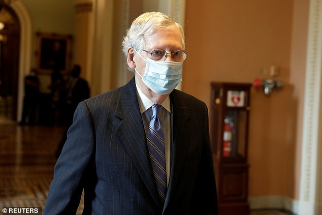Senate Majority Leader Mitch McConnell will bring the bill to the floor for a vote on debating the legislation, but Democrats insists the bill does not go far enough and claim McConnell is not giving a big enough commitment that Republicans will budge on the bill