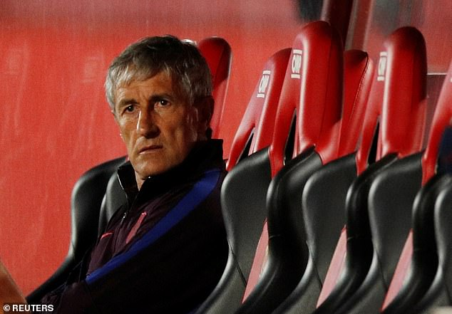 Setien was a huge admirer of the Brazilian midfielder and previously said he is 'extraordinary'