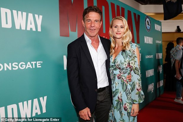 Married: the lovebirds only had their pastor as a witness, according to People;  photographed on October 2, 2019 in Honolulu, Hawaii, at the Midway special screening