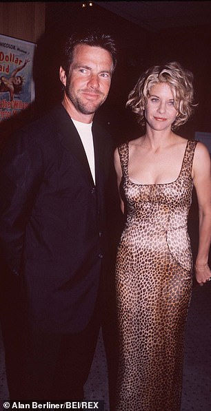 Photographed at the July 8, 1996 screening of Courage Under Fire in Beverly Hills