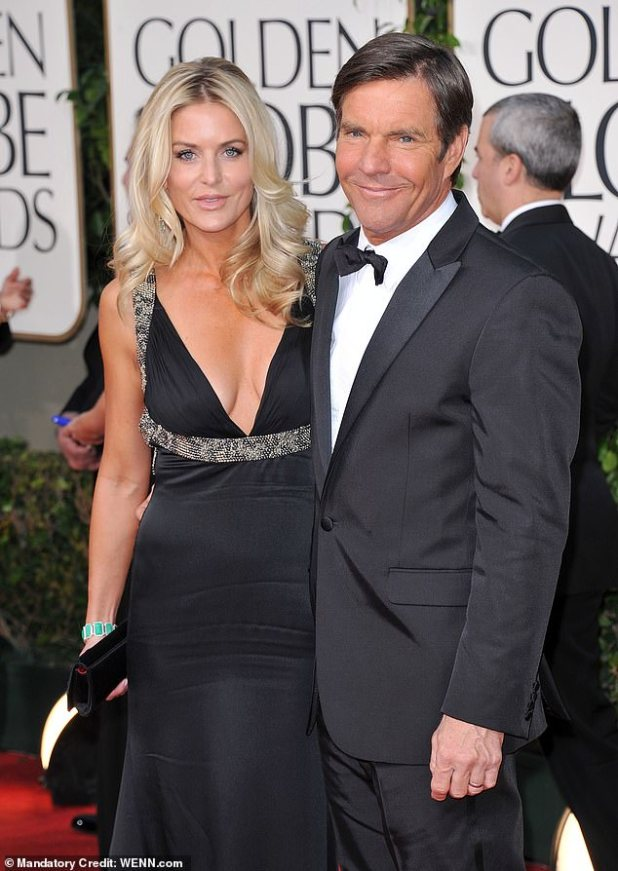 Ex-couple: They welcomed fraternal twins Zoe Grace and Thomas Boone, now 12;  Photographed at the 68th Annual Golden Globe Awards on January 12, 2012 in Beverly Hills