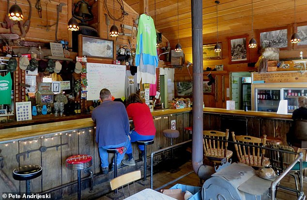 Pete Andrijeski, who runs the blog site Seattlebars.org, took this image of the Brooklyn Tavern's eclectic interiors when he visited to review it
