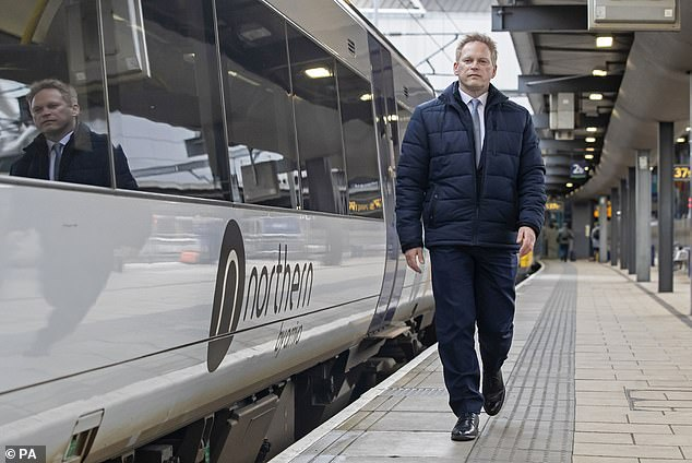 Transport Secretary Grant Shapps' proposals are expected to be included in the final report of a 21-month independent review into Britain's railways