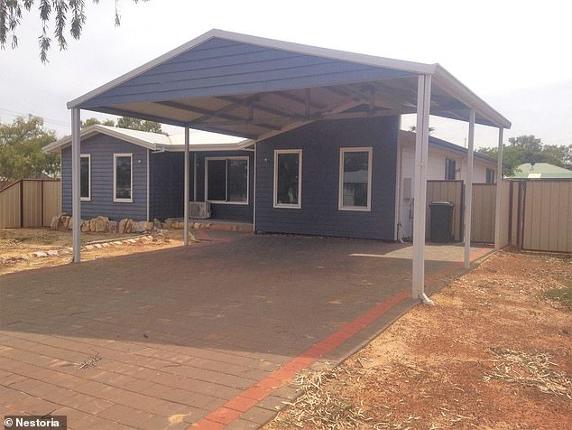 A young family looking for an easy start and spacious area for the children, a massive five bedroom home (pictured) is available at Valentine Street, Morawa