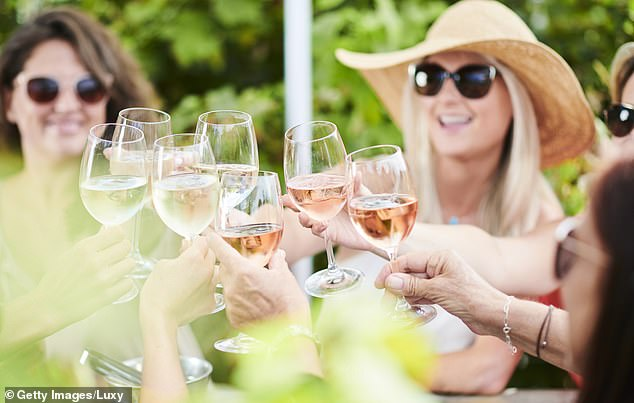 'One of the main bodily functions alcohol can affect in the short term is our sleep,' Chloe said. Alcohol lowers your sleep quality, as well as your restorative REM sleep (stock image)