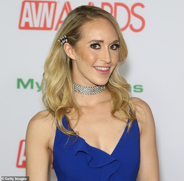 Pictured:Adult film actress Ginger Banks attends the 2019 Adult Video News Awards at The Joint inside the Hard Rock Hotel & Casino on January 26, 2019 in Las Vegas, Nevada