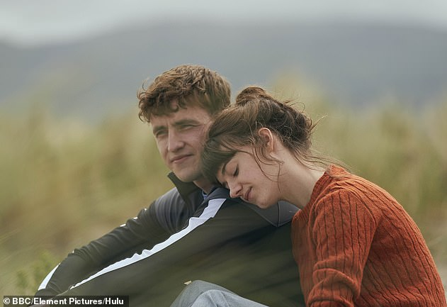 Fame: The Irish actor, 25, who rose to fame last year as Connell Waldron, is said to have deactivated his account after 'wasting time' on it and instead wants to 'focus his energy' on her personal life and work (pictured in Normal People Always with Daisy Edgar-Jones)