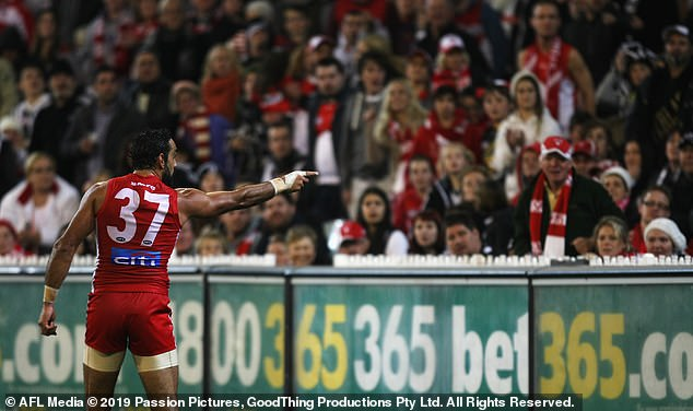 The incessant racism and booing Adam Goodes copped in the later stages of his career forced him to retire in 2015 and has had little to do with the game since
