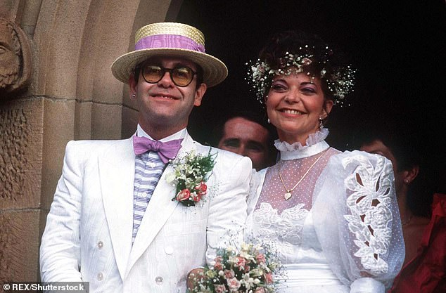 Elton John andRenate Blauel married in a traditional ceremony in Sydney's St Mark's church on Valentine's Day in 1984. Sir Elton was 36 at the time, and the couple was in Australia for his Too Low For Zero tour
